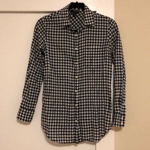 Jcrew Checkered Black and White shirt (0)